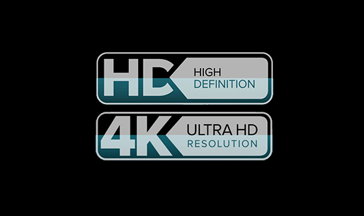 Brilliant HD or Ultra HD resolution